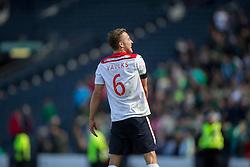 Falkirk's Will Vaulks. Falkirk's players cele the win.<br /> Hibernian 0 v 1 Falkirk, William Hill Scottish Cup semi-final, played 18/4/2015 at Hamden Park, Glasgow.