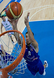 Uros Tripkovic of Serbia during the basketball match at 1st Round of Eurobasket 2009 in Group C between Slovenia and Serbia, on September 08, 2009 in Arena Torwar, Warsaw, Poland. (Photo by Vid Ponikvar / Sportida)