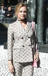 Diane Kruger bei der Miu Miu Modenschau während der Paris Fashion Week / 051016<br /> <br /> ***Miu Miu fashion show as part of Paris Fashion Week on october 05, 2016 in Paris***