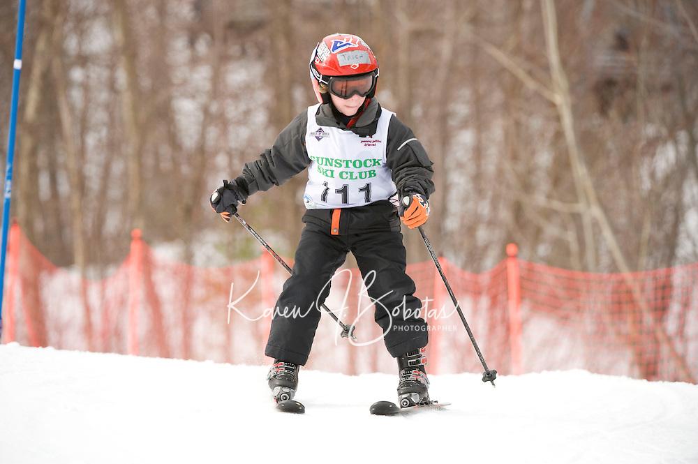 Tony Buttinger Memorial Slalom at Gunstock February 14, 2010...1st run J5