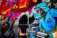 Street artist Gent 48