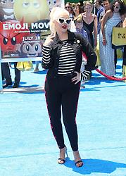 The Emoji Movie Los Angeles Premiere. 23 Jul 2017 Pictured: Christina Aguilera. Photo credit: Jaxon / MEGA TheMegaAgency.com +1 888 505 6342