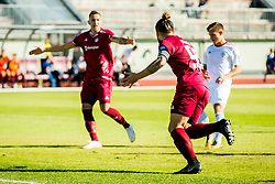 LukaMajcen of NK Triglav Kranj during Football match between NK Triglav Kranj and NS Mura in 10th Round of Prva liga Telekom Slovenije 2018/19, on September 27, 2018 in Stadium Stanko Mlakar, Kranj, Slovenia. Photo by Ziga Zupan / Sportida