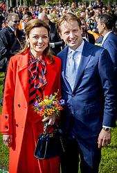 Princess Marilene and Prince Maurits attending King's Day Celebrations in Groningen, Netherlands, on April 27, 2018. Photo by Robin Utrecht/ABACAPRESS.COM