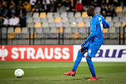 Alfred Gomis of Rennes during football match between NS Mura and Rennes (FRA) in group stage of UEFA Europa Conference League 2021/22, on 20 of October, 2021 in Ljudski Vrt, Maribor, Slovenia. Photo by Blaž Weindorfer / Sportida