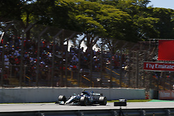 November 12, 2017 - Sao Paulo, Brazil - Motorsports: FIA Formula One World Championship 2017, Grand Prix of Brazil, .#77 Valtteri Bottas (FIN, Mercedes AMG Petronas F1 Team) (Credit Image: © Hoch Zwei via ZUMA Wire)
