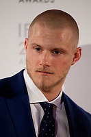 Alexander Ludwig at the IFTA Film & Drama Awards (The Irish Film & Television Academy) at the Mansion House in Dublin, Ireland, Thursday 15th February 2018. Photographer: Doreen Kennedy
