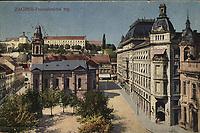 Zagreb : Preradovićev trg. <br /> <br /> ImpresumS. l. : S. M. Z., 1922.<br /> Materijalni opis1 razglednica : tisak ; 9 x 14 cm.<br /> Vrstavizualna građa • razglednice<br /> ZbirkaZbirka razglednica • Grafička zbirka NSK<br /> ProjektPozdrav iz Zagreba • Pozdrav iz Hrvatske<br /> Formatimage/jpeg<br /> PredmetZagreb –– Trg Petra Preradovića<br /> SignaturaRZG-PRER-6<br /> Obuhvat(vremenski)20. stoljeće<br /> NapomenaRazglednica je putovala 1923. godine. • S. M. Z. vjerojatno S. Marković Zagreb.<br /> PravaJavno dobro<br /> Identifikatori000953961<br /> NBN.HRNBN: urn:nbn:hr:238:995122 <br /> <br /> Izvor: Digitalne zbirke Nacionalne i sveučilišne knjižnice u Zagrebu