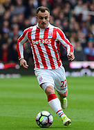 Sheridan Shaqiri of Stoke city.  Premier league match, Stoke City v West Ham Utd at the Bet365 Stadium in Stoke on Trent, Staffs on Saturday 29th April 2017.<br /> pic by Bradley Collyer, Andrew Orchard sports photography.