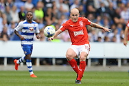 Aaron Mooy of Huddersfield Town crossing the ball. EFL Skybet  championship match, Reading  v Huddersfield Town at The Madejski Stadium in Reading, Berkshire on Saturday 24th September 2016.<br /> pic by John Patrick Fletcher, Andrew Orchard sports photography.