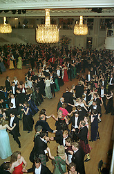 Guests dancing an Eightsome Reel at a ball in London on May 1st 1997.LYB 119