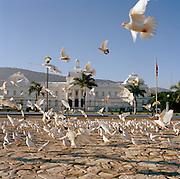 The Presidential Palace on Place L'Ouverture, Port-Au-Prince, Haiti