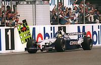 SCHUMACHER, Ralf     Sieger  Gro§er Preis von Deutschland 2001<br />        Motorsport / Formel 1      BMW Williams