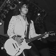 PENNSYLVANIA - MAY 1996: Joan Jett performs on May 31, 1996 in Allentown, Pennsylvania. ©Lisa Lake