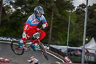 #909 (KATYSHEV Aleksandr) RUS during round 3 of the 2017 UCI BMX  Supercross World Cup in Zolder, Belgium,