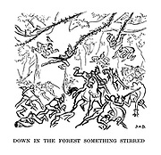Down in the Forest Something Stirred