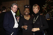 Floella Benjamin and Sabrina Guinness, For One Night Only...Fundraiser For the South Bank Centre. Purcell Room, Royal Festival Hall.4 December  2005. ONE TIME USE ONLY - DO NOT ARCHIVE  © Copyright Photograph by Dafydd Jones 66 Stockwell Park Rd. London SW9 0DA Tel 020 7733 0108 www.dafjones.com