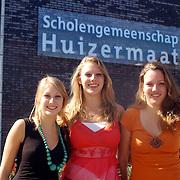 NLD/Huizen/20070524 - Examenkandidaten Huizermaatschool Huizen