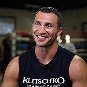 Wladimir Klitschko workout