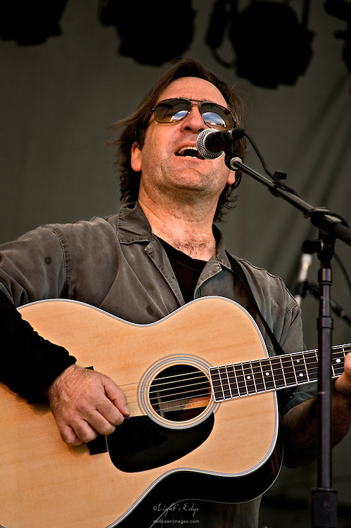 Richard Shindell, who now lives in Buenos Aires, Argentina, performing at the 2010 Appel Farm Arts & Music Festival.