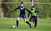 Fotball , 25. janaur 2017 , Vålerenga på treningsleir , <br /> <br /> Jonatan Tollås Nation   , VIF<br /> Niklas Castro  , VIF