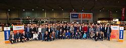 Voorstelling van alle gehuldigde Fokkers<br /> KWPN Hengstenkeuring - 's Hertogenbosch 2012<br /> © Dirk Caremans