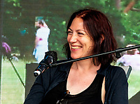 Natalie Haynes  at the Also Festival 2021 at Cpmton Verney,photo by Mark Anton Smith<br /> .