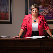 Portrait of Sylvia Groves from Governance Studio photographed in Inglewood, Calgary, Alberta.
