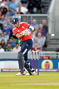 Alex Hales batting during the International T20 match between England and Pakistan at the Emirates, Old Trafford, Manchester, United Kingdom on 7 September 2016. Photo by Craig Galloway.