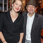 NLD/Amsterdam/20151119 - Perspresentatie Sinatra 100, Leonie Meijer en Jon van Eerd