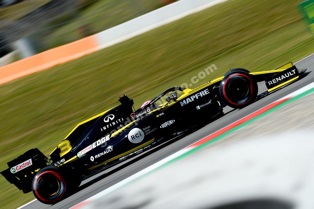 Daniel Ricciardo (Renault) during practice before the 2019 Spanish Grand Prix at the Circuit de Barcelona-Catalunya. Photo: Grand Prix Photo