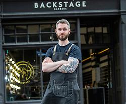 Barber David Gourlay at Backstage Barbers 10 Lauriston Street, Edinburgh
