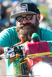Scott Koonts at the Sportster Showdown Bike Show presented by Led Sled and Biltwell at the Buffalo Chip during the 78th annual Sturgis Motorcycle Rally. Sturgis, SD. USA. Tuesday August 7, 2018. Photography ©2018 Michael Lichter.