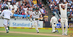 Cape Town-180324 Proteas Aidan Markram and Hashim Amla betting  in the second innings  against  Australian  in the 3rd test of the Sunfoil cricket test at Newlands cricket stadium. .Photograph:Phando Jikelo/African News Agency/ANA