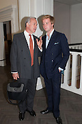 MARTYN ROBERTSON; ALEXANDER ROBERTSON, Vogue's Fashion night out special opening of the Halcyon Gallery.  New Bond St. London. 6 December 2012.