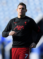 Football - 2020 / 2021 Premier League - Leicester City vs Liverpool - King Power Stadium<br /> <br /> Liverpool's James Milner during the pre-match warm-up.<br /> <br /> COLORSPORT/ASHLEY WESTERN