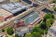 Nederland, Utrecht, Amersfoort, 29-05-2019; overzicht van binnenstad Amersfoort, Smallepad. Kantoorgebouw van Rijksdienst Cultureel Erfgoed (RCE) en Staatsbosbeheer.<br /> Overview of city center Amersfoort.<br /> luchtfoto (toeslag op standard tarieven);<br /> aerial photo (additional fee required);<br /> copyright foto/photo Siebe Swart