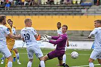 Fotball , 11 juni 2017 , OBOSligaen , Glimt - Jerv , Øyvind Christoffer Vogt Knutsen, Kristoffer Tønnessen