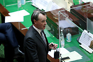 Opposition Leader Michael O'Brien speaks during Question Time