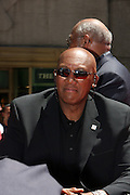 Fergie Jenkins at the Major League Baseball All-Stars and 49 Hall of Famers ride up Sixth Avenue in All Star-Game Red Carpet Parade Presented by Chevy on July 15, 2008