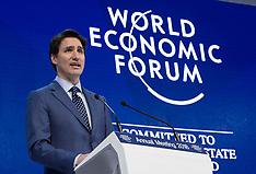 World Economic Forum - Davos 24 Jan 2018