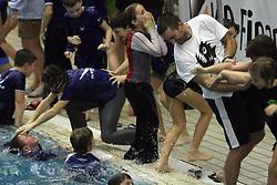 Trener Tomi Martinjak, PK Ilirija,  na zimskem drzavnem prvenstvu mlajsih deklic in deckov v plavanju v 25m bazenu , 8. februar 2009, bazen Tivoli, Ljubljana, Slovenija. (Photo by Vid Ponikvar / Sportida)