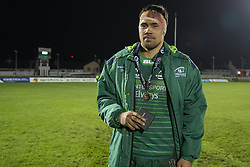 March 22, 2019 - Ireland - Man of the match Jarrad Butler of Connacht during the Guinness PRO14 match between Connacht Rugby and Benetton Rugby at the Sportsground in Galway, Ireland on March 22, 2019  (Credit Image: © Andrew Surma/NurPhoto via ZUMA Press)