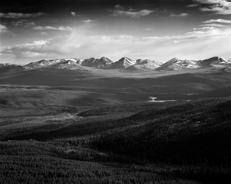 View from Haeckel Hill, Whitehorse, YT