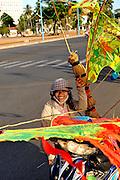 Kite seller, Vung Tau, Vietnam