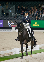 Reynolds Judy, IRL, Vancouver K<br /> FEI Dressage World Cup™ Grand Prix presented by RS2 Dressage - The Dutch Masters<br /> © Hippo Foto - Sharon Vandeput<br /> 14/03/19
