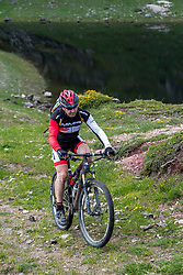15-06-2018 ESP: Mini Reto Babia day 1, Babia<br /> A group of 40 Spanish people with diabetes mountain biking through one of the most beautiful areas around Babia in the Cantabrian montains in León.