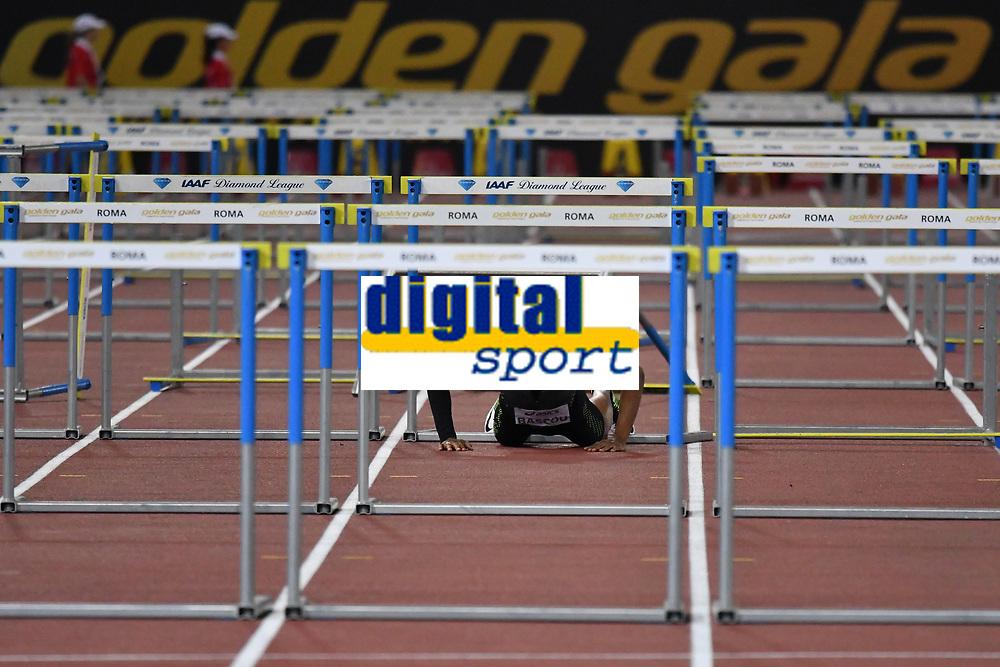 Dimitri BASCOU FRA 110m hurdles men <br /> Roma 03-06-2016 Stadio Olimpico <br /> IAAF Diamond League Golden Gala <br /> Atletica Leggera<br /> Foto Andrea Staccioli / Insidefoto