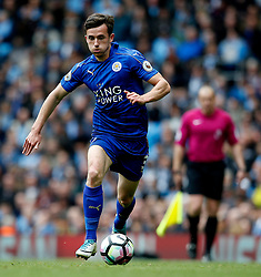 Ben Chilwell of Leicester City - Mandatory by-line: Matt McNulty/JMP - 13/05/2017 - FOOTBALL - Etihad Stadium - Manchester, England - Manchester City v Leicester City - Premier League