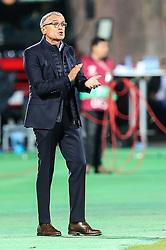 October 5, 2017 - Yerevan, Armenia - Trener Adam Nawalka (POL), during the FIFA World Cup 2018 qualification football match between Armenia and Poland in Yerevan on October 5, 2017. (Credit Image: © Foto Olimpik/NurPhoto via ZUMA Press)